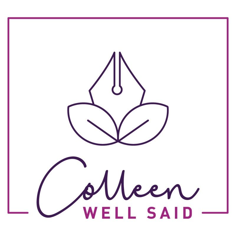 Colleen Well Said Logo