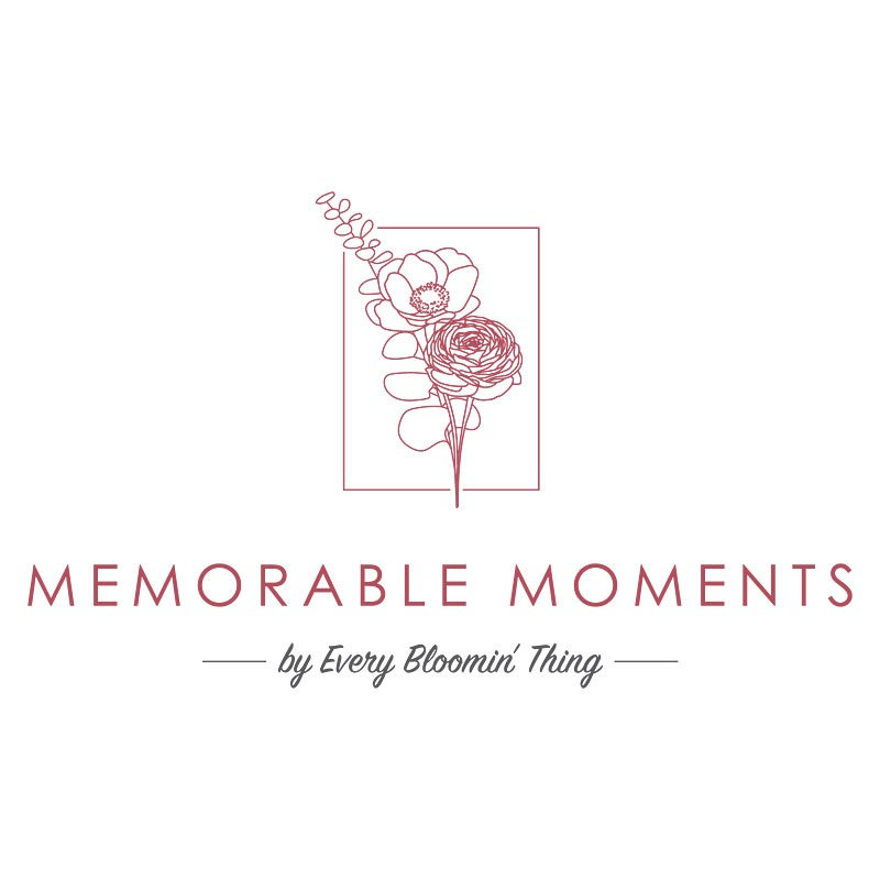 Memorable Moments by Every Bloomin' Thing Logo