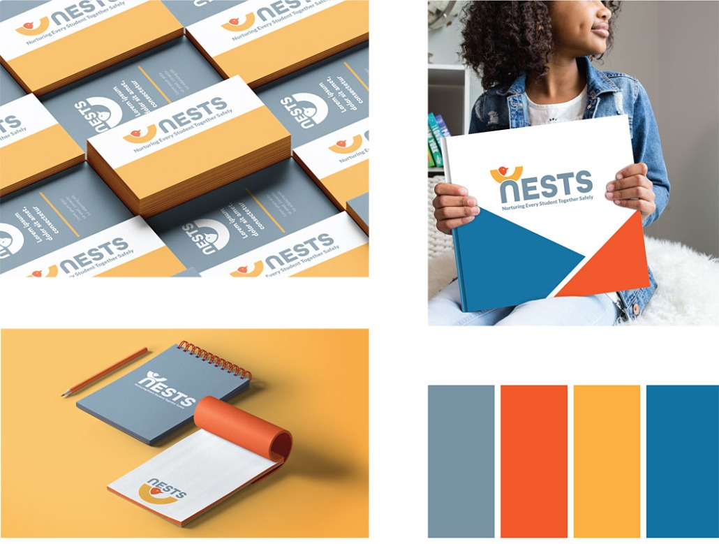 Neighborhood Nests Initial Branding and Logo Design